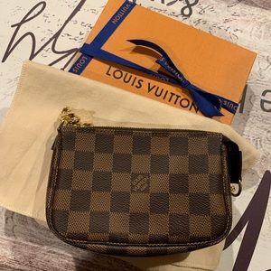 Authentic LV mini pochette accessories